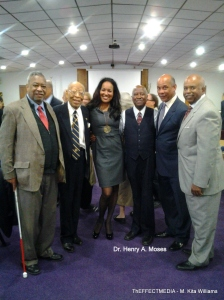 Dr. Henry A. Moses' gift of $100,00 to Fisk University was a moving experience for everyone present at Fisk's Commencement on May 6, 2013.  Many were moved to tears.