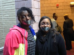 Photo credit: Philadelphia Inquirer taken in 2014 of students protesting Lincoln University administration.