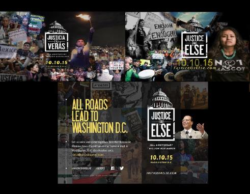 Justice or Else collage